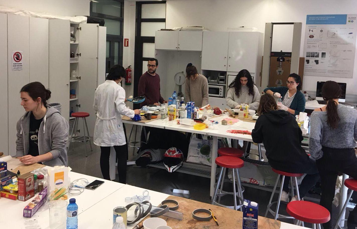 Materials Generation Workshop Elisava. Barcelona, Spain.
