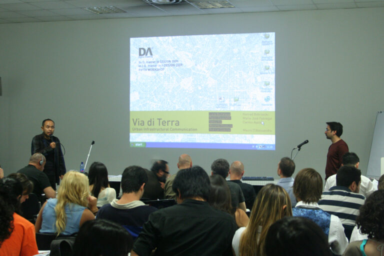 New Technologies Workshop in Collaboration with IMRA AISIN - Domus Academy Milano