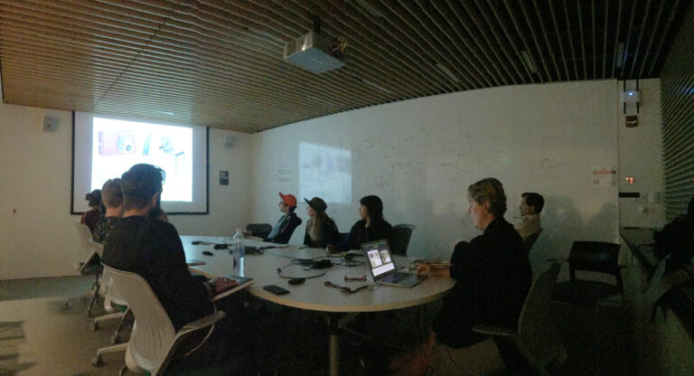 Lecture at the Object Based Media Lab MIT, Boston, USA.