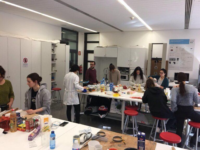 Materials Made @ Workshop - ELISAVA Barcelona