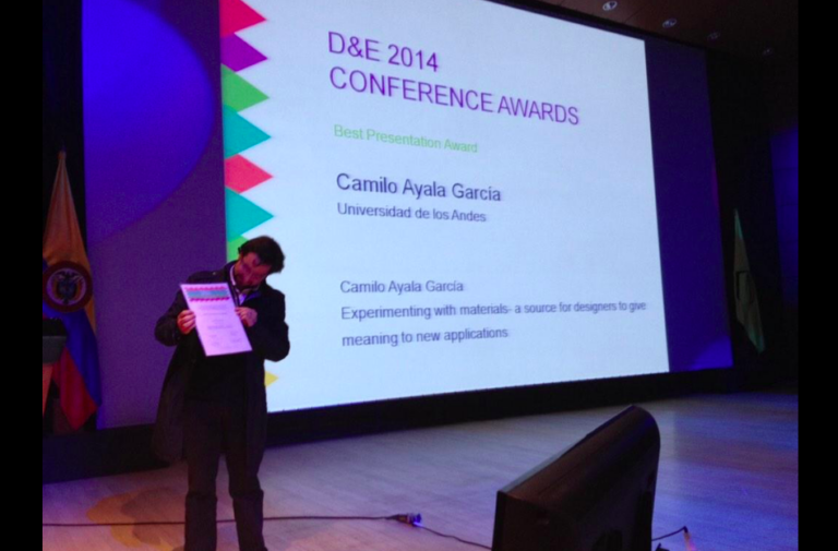Speaker at the D&E Conference - Bogotá, Colombia
